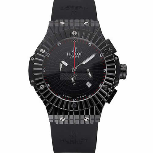 Hublot Big Bang Caviar Black Dial Black Case