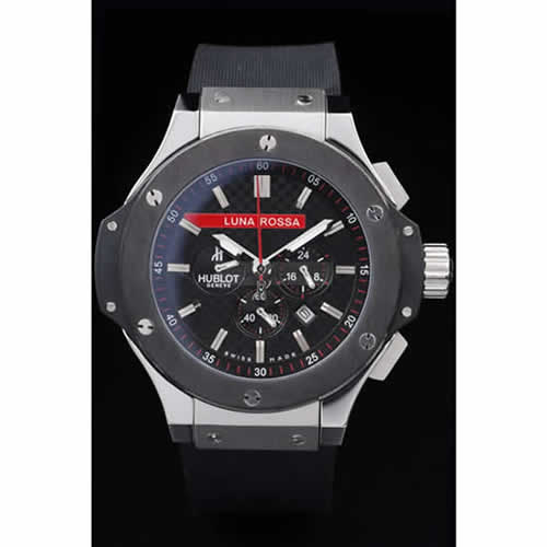 Hublot Limited Edition Luna Rosa Black Dial Watch