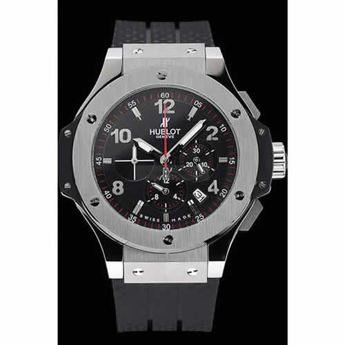 Hublot Big Bang King Black Strap Black Dial Watch