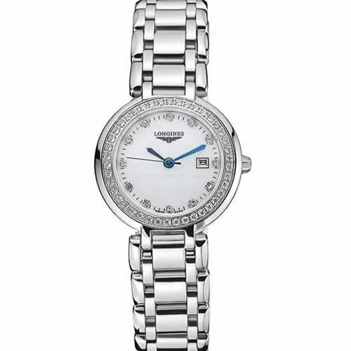 Longines PrimaLuna Stainless Steel Diamonds Case  622588