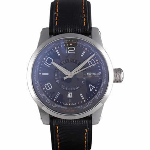 Montblanc Timewalker Hemispheres Leather Strap  621625