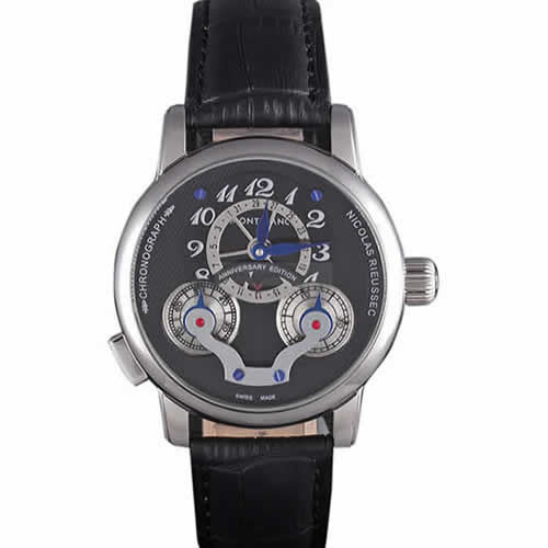 Montblanc Nicolas Rieussec Anniversary Edition Leather Band  621628