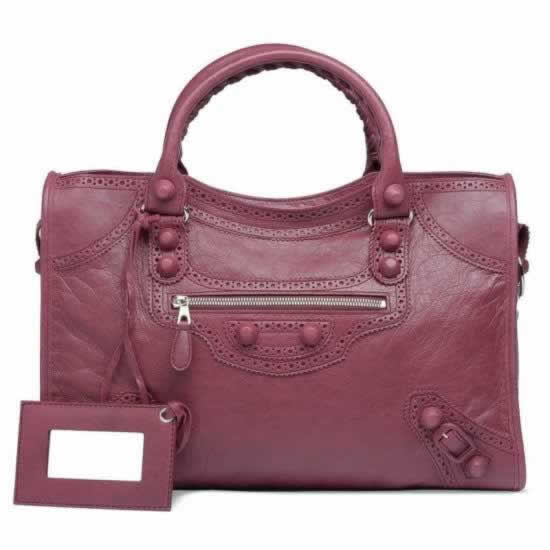 Replica Balenciaga Handbags Giant City Brogues Cassis sell