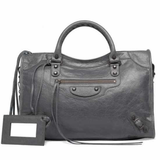 Replica Balenciaga Handbags City Gris Tarmac for discount