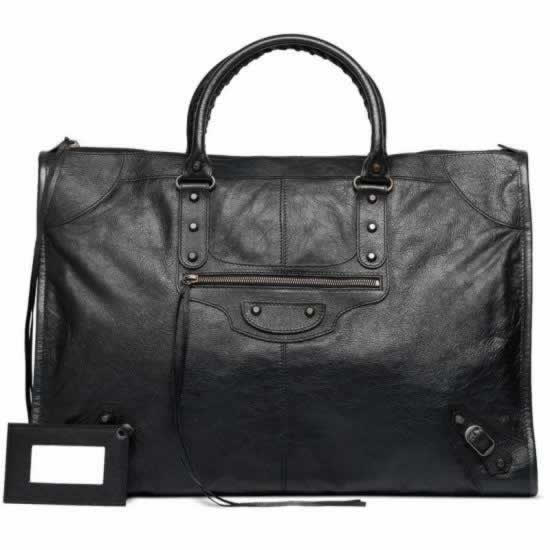 Replica Balenciaga Handbags Weekender Black for cheap