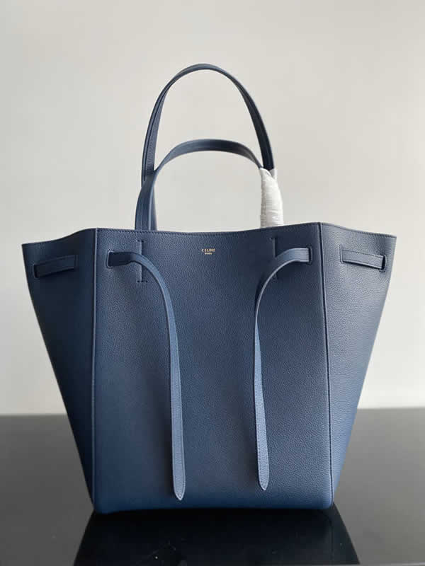 Replica Fashion Celine Cheap Cabags Phantom Blue Handbags High Quality