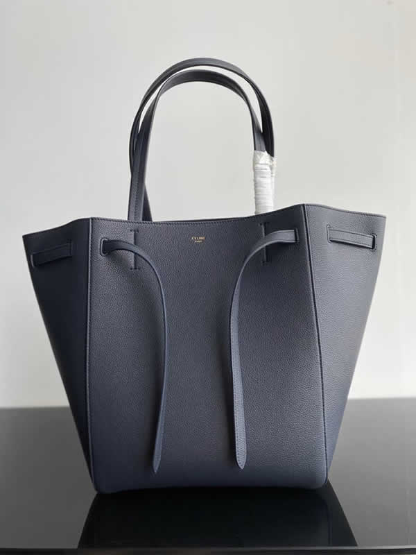 Replica Fashion Celine Cheap Cabags Phantom Black Handbags High Quality