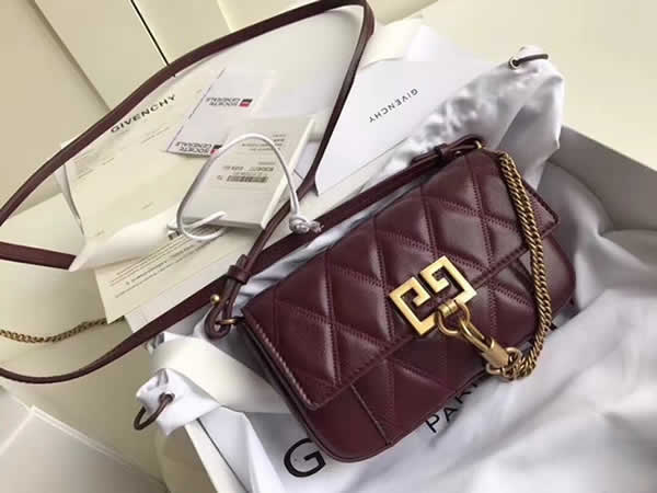Fake Givenchy Sheepskin Crossbody Red Bag Shoulder Bag Waist Bag