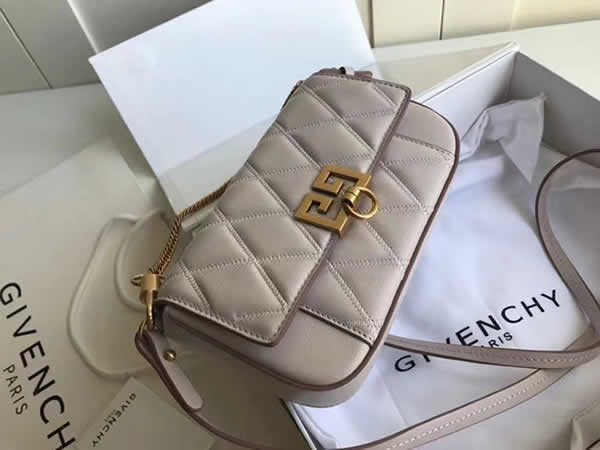 Fake Givenchy Sheepskin Crossbody White Bag Shoulder Bag Waist Bag