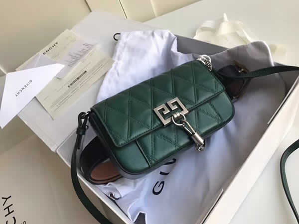 Fake Givenchy Sheepskin Crossbody Green Bag Shoulder Bag Waist Bag