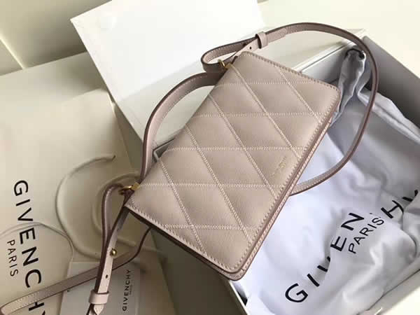 Replica Givenchy Cheap New Gv3 Series Strap Khaki Wallet Crossbody Bag