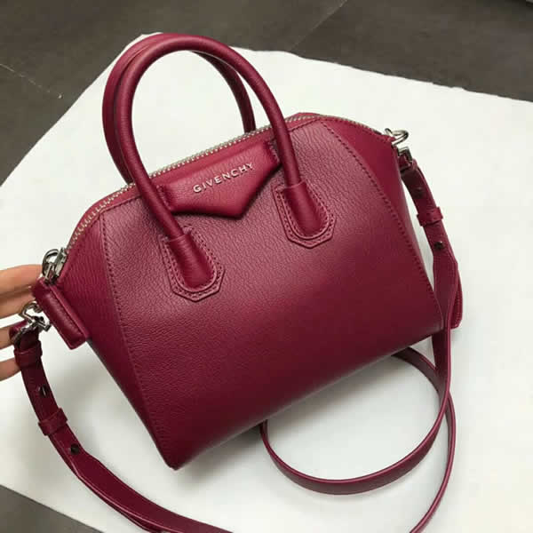 Replica Givenchy Antigona Mini Red Handbag With High Quality