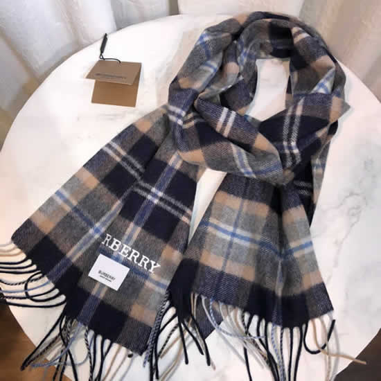 Women Scarves Autumn Winter New Female Wool Scarf Fake Burberry Scarves 18