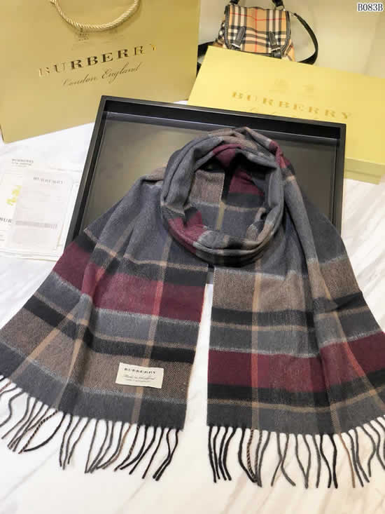Women Scarves Autumn Winter New Female Wool Scarf Fake Burberry Scarves 20