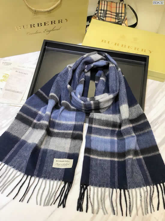 Women Scarves Autumn Winter New Female Wool Scarf Fake Burberry Scarves 21