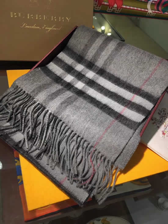 Women Scarves Autumn Winter New Female Wool Scarf Fake Burberry Scarves 27