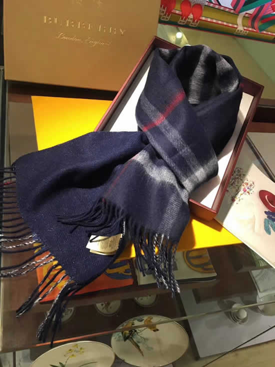 Women Scarves Autumn Winter New Female Wool Scarf Fake Burberry Scarves 28